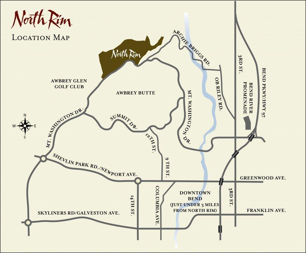 Location North Rim Hoa